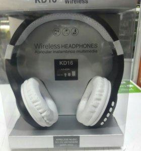 Bluetooth наушники. Новые!