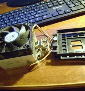Охлаждение процессора (сокеты 754, 939)