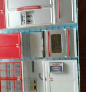 Игрушечный кухонный гарнитур