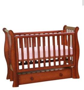 """Детская кроватка Лель """"лаванда"""""""