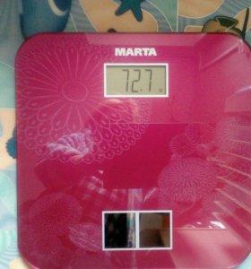 Весы на солнечной батареи