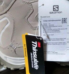Новые фирменые зимние кроссовки Solomon