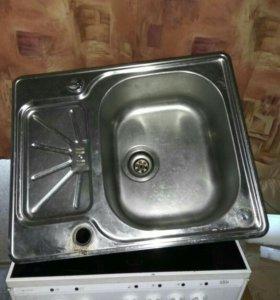 Кухонная мойка из нержавейки