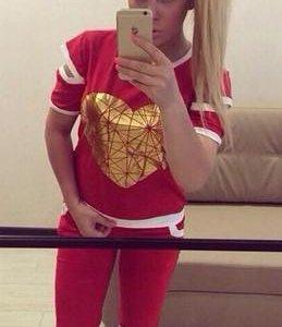 Спорт.костюм Золотое сердце бриджи