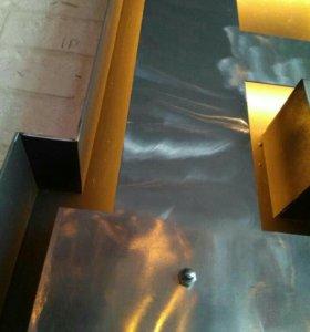 Лазерная сварка,изготовление обьемных букв из мета