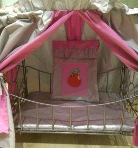 Кроватка игрушечная