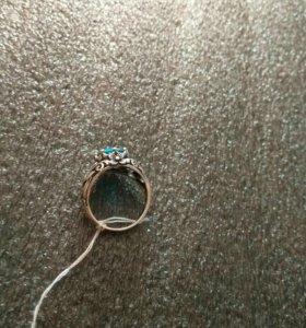 Кольцо ,, топаз
