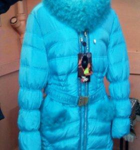 Новая куртка пух