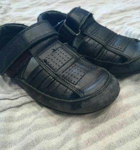 Ботинки 31 размер кожаные для школы