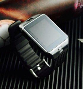 Умные часы-телефон Smart Watch DZ09