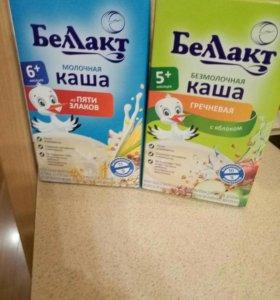 Каши молочные и безмолочные