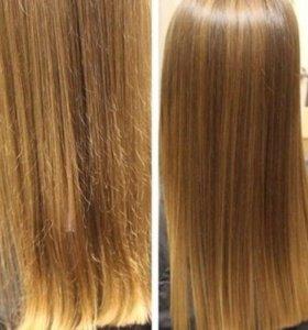 Полировка волос/ завивка кудрей
