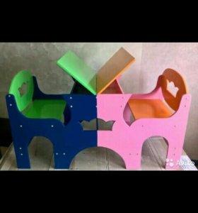 Столик для двойни