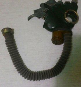 Газовый противогаз + фильтр