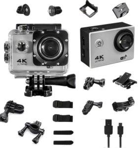 Экшен камера G630 серебро