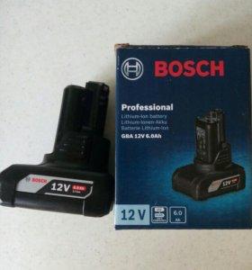 Аккумулятор bosh 10,8-12v,6 Aмч