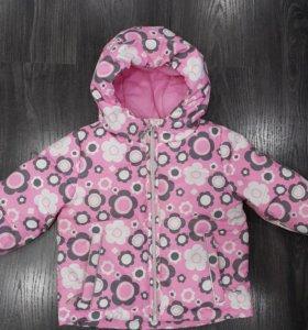 Продам зимнюю куртку barkito (86 р-р)