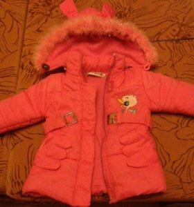 Куртка детская на осень и весну