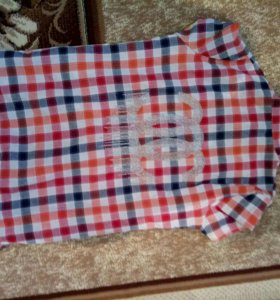 Рубашка б/у XXL длинная