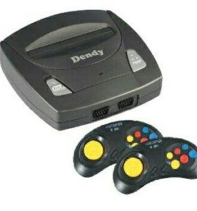 Игровая консоль Dendy Master 195 игр