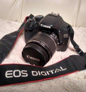Фотоаппарат зеркальный Canon 550D KIT + сумка