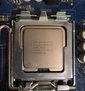 Процессор intel core 2 duo E7500  socket 775