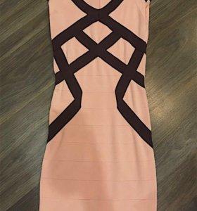 Бандажное платье LR