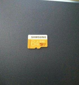 Micro SD Samsung Evo 64gb
