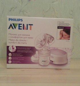 PHILIPS Avent электрический молокоотсос SCF332/01