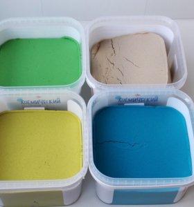 Кинетический песок - живой песок
