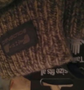 Перчатки-варежки универсальный размер