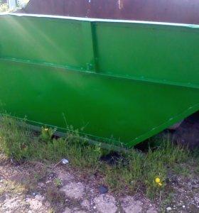 Бункер-контейнер для мусора(лодочка)