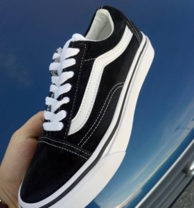 Кеды Vans old skool замша