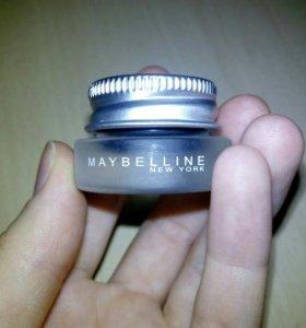 гелевая подводка maybelline