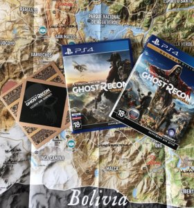 Tom Clansy's Ghost Recon Wildlands Deluxe Edition
