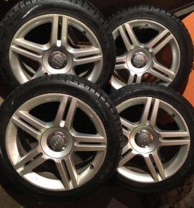 Колёса 225/45 r17 Vw Audi Skoda Seat