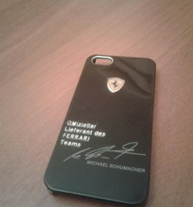 Накладка Бампер на iPhone 5/5s/5se Ferrari