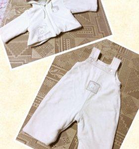 Теплый костюм 56-62 см