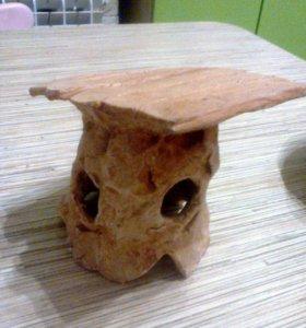 Островок в черепашник, керамика
