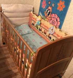 Кроватка Винни пух от Motherkare