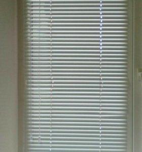 Оконые жалюзи на пластиковые окна за 3 шт