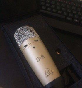 Конденсаторный микрофон Behringer C-3