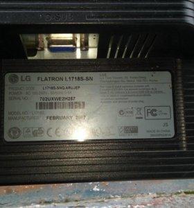 Монитор для п,к LG FLATRON