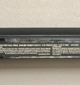 Аккумулятор для ноутбука DEXP W950BAT-4