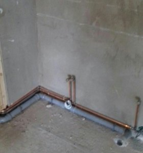 Монтаж систем водоснабжения