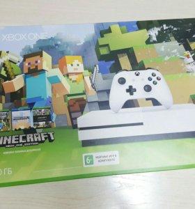 Новый Microsoft Xbox One S 1Tb