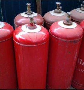 Газовый баллон газ пропан доставка