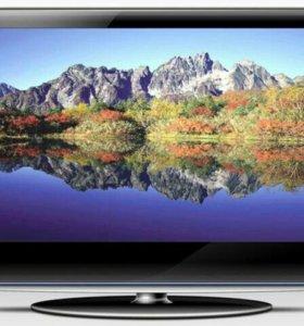 ЖК телевизор с dvbt-2, USB приставкой на 20 кан.