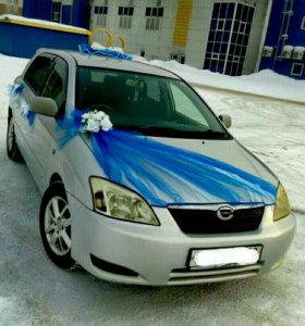 Украшение машины на свадьбу и выписку из роддома