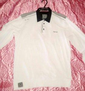 Мужская белая модная рубашка